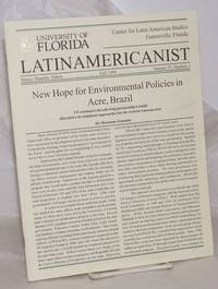 image of University of Florida Latinamercanist: vol. 35, #1, Fall 1999: New Hope for environmental policies in Acre, Brazil