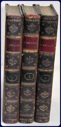 CAMILLA: OR, A PICTURE OF YOUTH.  In Three Volumes.
