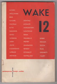 Wake 12 (Contemporary Foreign Number; 1953)