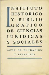 Acta de Fundacion y Estatutos