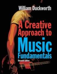 image of A Creative Approach to Music Fundamentals (Book Only)