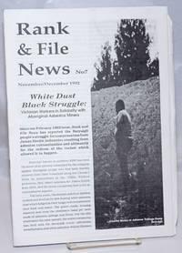 image of Rank and File News. No. 7 (November/December 1992)