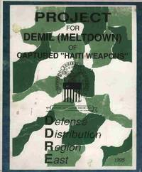 """Project for Demil (Meltdown) of Captured """"Haiti Weapons"""""""