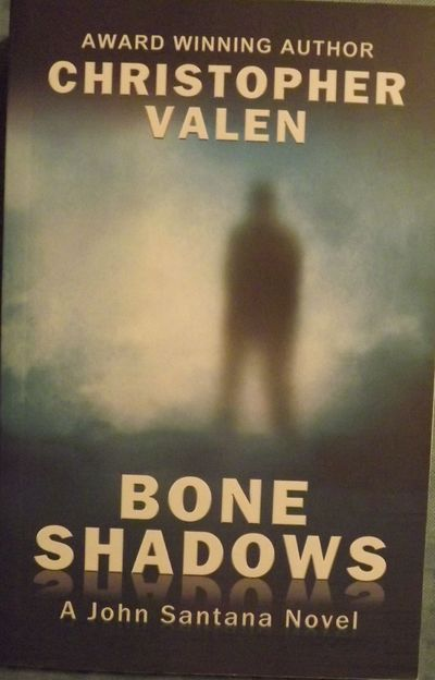 2012. VALEN, Christopher. BONE SHADOWS. St. Paul, MN: Conquill Press, . 8vo., pictorial wraps; 333 p...