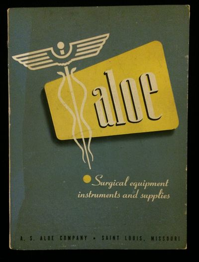 St Louis MO: A.S. Aloe Company, 1946. Soft cover. Very Good +. Large medical supplies catalog, 588p,...