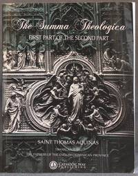 image of THE SUMMA THEOLOGICA: FIRST PART OF THE SECOND PART