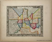 Plan of Baltimore from the New Universal Atlas.