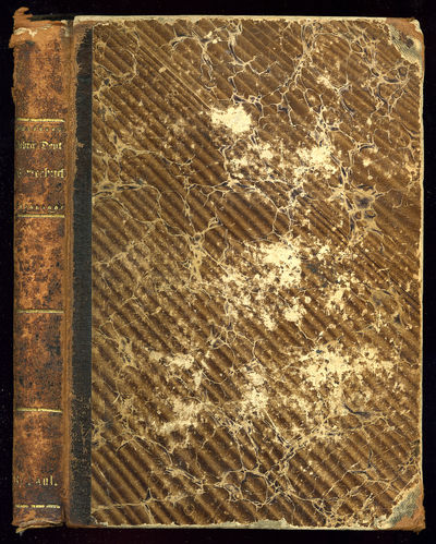 Breslau: Schletter'sche Buchhandlung, 1871. Hardcover. Very Good. Owner name, worn leather spine and...