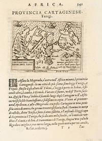 image of PROVINCIA CARTAGINESE. Tunigi. CARTHAGINIS CELEBERIMI SINUS TIPUS