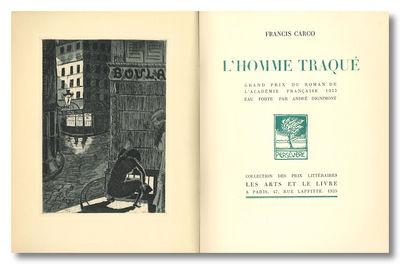 Paris: Les Arts et le Livre, 1925. 189,pp. Large octavo. Printed wrapper. Frontis. Lower 4.5 cm at t...