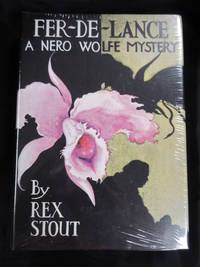 Fer-De-Lance by  Rex Stout - Facsimile First Edition - 1996 - from Seattle Mystery Bookshop and Biblio.com