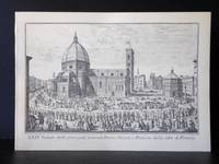 Vedute di Firenze. XXIV Vedute delle Principali Contrade, Piazze, Chiese, e Palazzi delle Città di Firenze