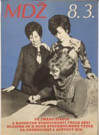image of MDZ 8.3 [Czechoslovakian poster for International Women's Day (Mezinárodní den žen)]