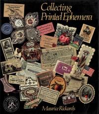 Collecting printed ephemera. by RICKARDS Maurice - - from Libreria Piani snc and Biblio.com