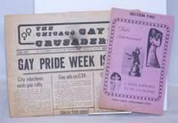 image of Chicago Gay Crusader: the total community newspaper; #13, June 1974: Gay Pride Week Issue