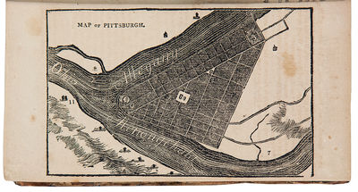 Pittsburgh: printed and published by Cramer, Spear & Eichbaum, 1811. 12mo. (6 3/4 x 4 inches). 295, ...