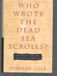 image of Who Wrote The Dead Sea Scrolls?