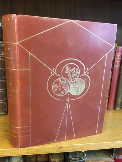 Paris: Bernard Grasset, 1927. Limited edition (V on Annam paper). 8vo. rebound in brown, sleek leath...