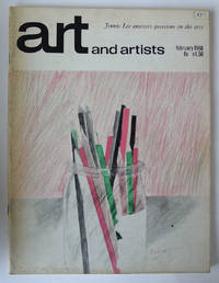 Colour cover design for Art and Artists, February 1968.