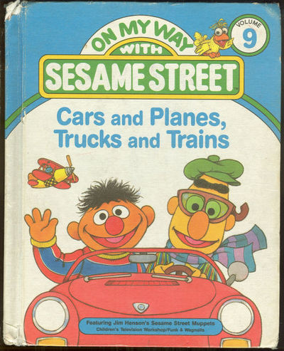CARS AND PLANES, TRUCKS AND TRAINS Featuring Jim Henson's Sesame Street Muppets, Anastasio, Dina