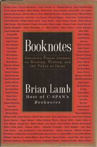 image of Booknotes: America's Finest Authors on Reading, Writing, and the Power of Ideas (signed)