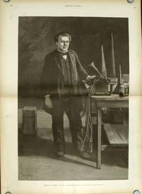 Thomas A. Edison in His Laboratory