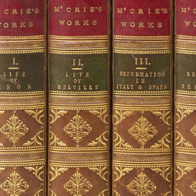 Edinburgh: William Blackwood, 1855. A New Edition. 4 vols. 8vo. Bound in three quarters contemporary...