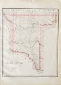 Map of the Oklahoma Country in the Indian Territory.
