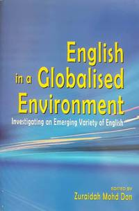 English in a Globalised Environment - Investigating an Emerging Variety of English