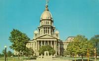 Illinois State Capitol, Springfield Illinois, unused Postcard