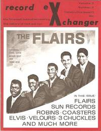 RECORD EXCHANGER,  Volume 3, No. 2,  Consecutive Issue 13,  February 1973:; The Foremost Publication Covering the History of Rock and Roll