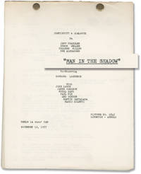 image of Man in the Shadow (Original post-production script for the 1957 film noir)