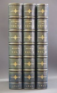 The Stones of Venice: Three Volume Set. The Foundations; The Sea-Stories. The Fall. by John Ruskin - 1st Edition  - 1851-1853 - from Tarrington Books and Biblio.com