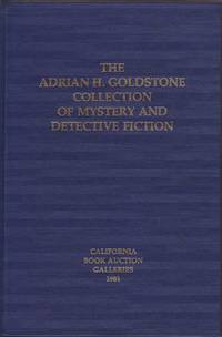 The Adrian H. Goldstone Collection of Mystery and Detective Fiction