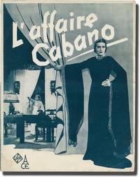 image of Vor Liebe wird gewarnt [Onny a le Beguin] (Original French pressbook for the 1937 film)