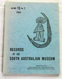 Records of the South Australian Museum Volume 15 No 2