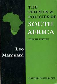 The Peoples and Policies of South Africa