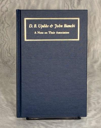 Boston, MA: The Society of Printers, 1965. Hardcover. Very Good. Series: Typophiles Monograph, No. 8...