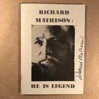 Richard Matheson: He is legend : an illustrated bio-bibliography