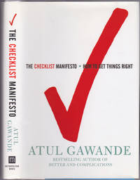 image of The Checklist Manifesto: How to Get Things Right