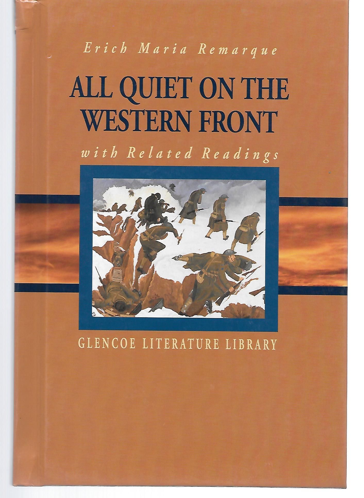 a book review of all quiet on the western front by erich maria remarque Start studying all quiet on the western front learn vocabulary,  erich maria remarque  paul dies on the most quiet day on the front.
