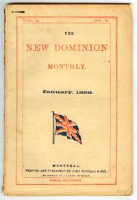 The New Dominion Monthly January 1869