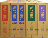 image of The Andy Warhol Catalogue Raisonne of Paintings and Sculptures, in four volumes. I: 1961-1963; II (in two volumes): 1964-1969; III: 1970-1974; IV: 1974-1976