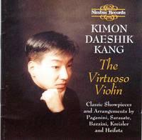 Kimon Daeshik Kang - The Virtuoso Violin [CD - Music Compact Disc]