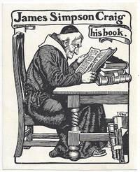 James Simpson Craig - Bookplate (Ex Libris)