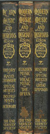 Modern Music and Musicians Encyclopedia: Vol. 1-3