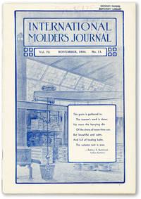 International Molders Journal. Vol. 70, no. 11 (November 1934)