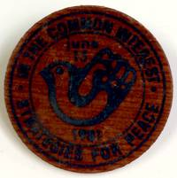 In the common interest / Strategies for peace / June 13, 1981 [pinback button]
