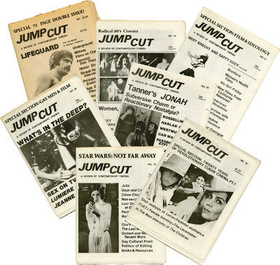 Chicago/Berkeley: Jump Cut Associates, 1979. Archive of six single issues and one double issue of