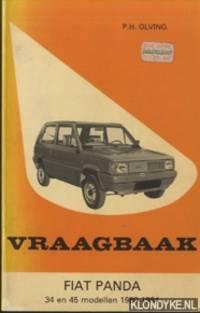 Vraagbaak Fiat Panda. 34 en 45 modellen 1980-1984